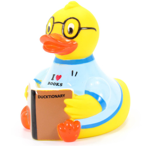 Library Reader Rubber Duck by Yarto   Ducks in the Window®