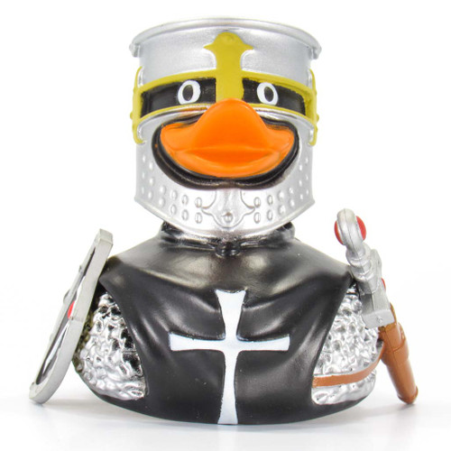 Back Knight Rubber Duck by Wild Republic | Ducks in the Window®