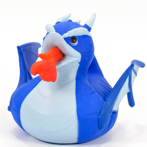 Blue Fire Breathing Dragon Rubber Duck by Wild Republic | Ducks in the Window®