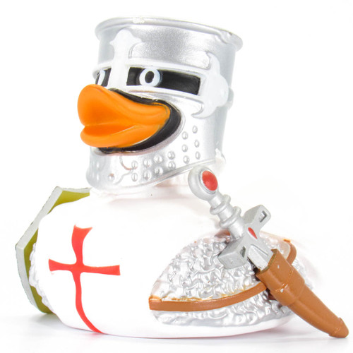 Knight White Rubber Duck by Wild Republic | Ducks in the Window®