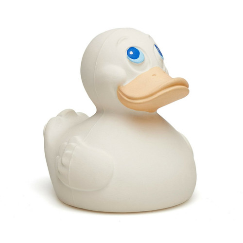 Baby Teether Cream (Sealed) Rubber Duck by Lanco 100% Natural Toy & Organic | Ducks in the Window®
