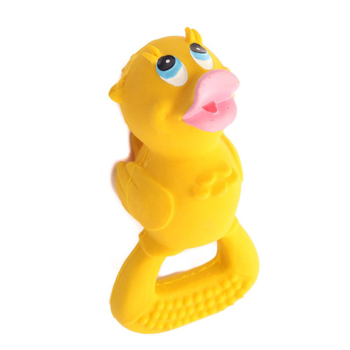 Baby Teether Duck Yellow by Lanco 100% Natural Toy & Organic | Ducks in the Window®