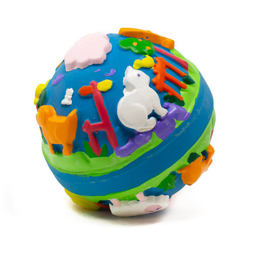 Baby Lulu Learning Ball by Lanco 100% Natural Toy & Organic | Ducks in the Window®