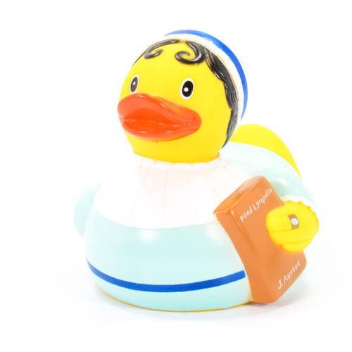 Jane Austen Pride & Prejudice Rubber Duck by Yarto | Ducks in the Window®