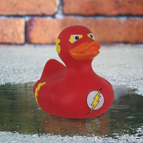 DC Comics The Flash Bath Rubber Duck by Paladone | Ducks in the Window®