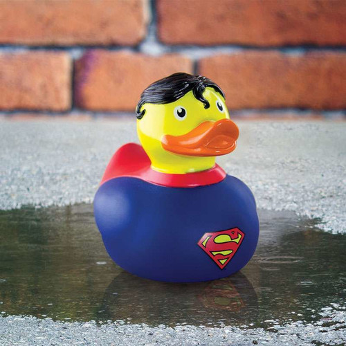 DC Comics Superman Bath Rubber Duck by Paladone | Ducks in the Window®