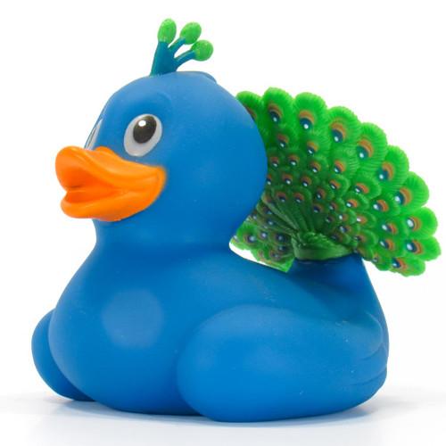 Peacock Rubber Duck by Wild Republic | Ducks in the Window®