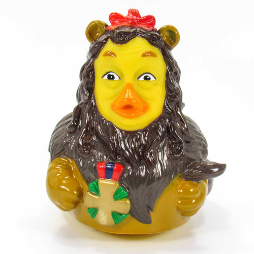 The Cowardly Lion from The Wizard Of Oz Rubber Duck by Celebriducks | Ducks in the Window®