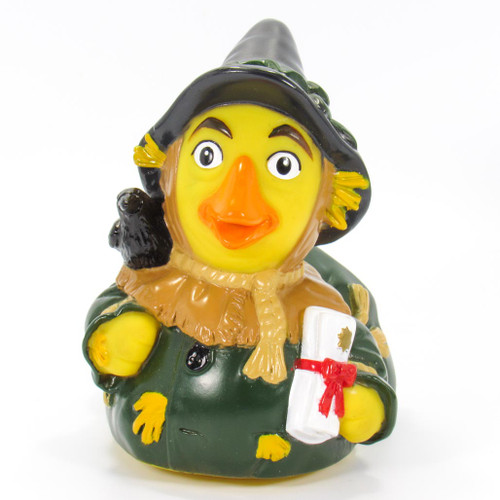 The Scarecrow from The Wizard Of Oz Rubber Duck by Celebriducks | Ducks in the Window®