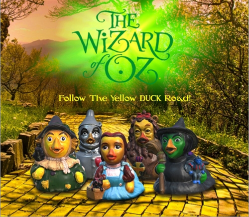 The Wizard Of Oz Rubber Duck Collectors Series by Celebriducks | Ducks in the Window®