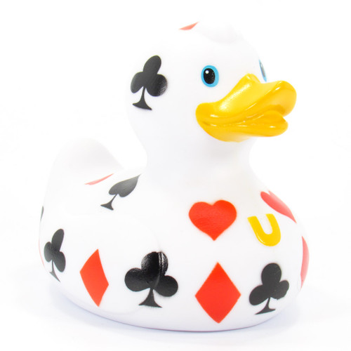 Poker (Gambling)  Rubber Duck Bath Toy by Bud Ducks | Ducks in the Window®