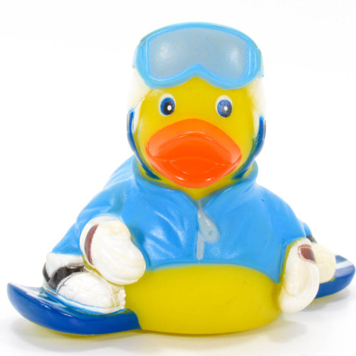 Snowboarder Rubber Duck by Ad Line | Ducks in the Window®