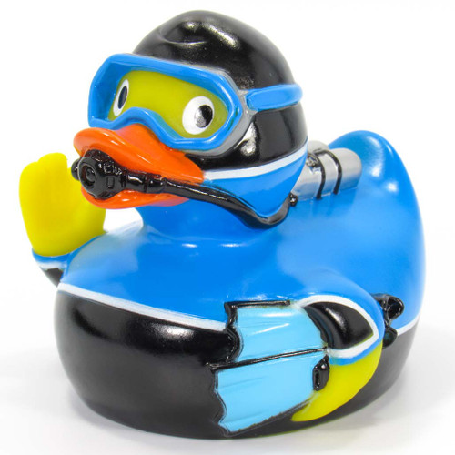 Scuba Diver Rubber Duck by Schnabels  | Ducks in the Window®