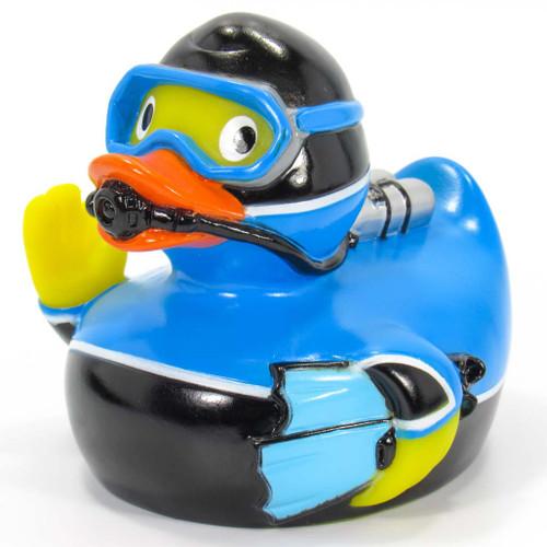 Scuba Diver Rubber Duck by Schnabels  | Ducks in the Window®