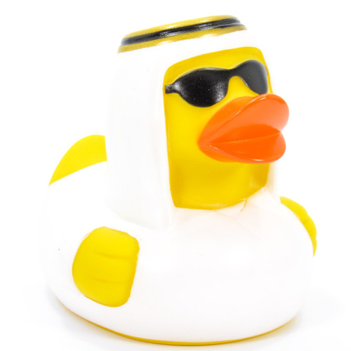 Sheik Arabian Rubber Duck by Schnabels  | Ducks in the Window®