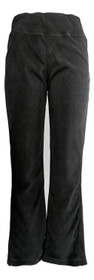 North River Women's Pants Sz S Pull On Seam Detail Black