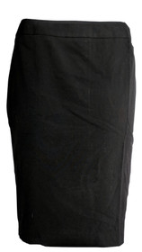 Zac & Rachel Skirt Sz 10 Zipper Closure A-Line Short Length Black