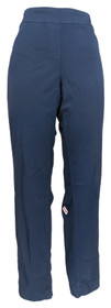Slim Satin for NorthStyle Women's Pants Sz 16 Pull-on Navy Blue