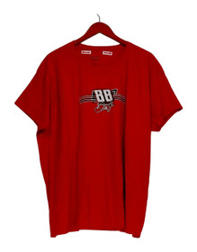 NASCAR Top Sz 3XL Dale Earnhardt Jr. Men's Printed Tee Red A302555
