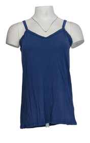The Pyramid Collections Women's Top Sz S Pullover Lightweight Blue