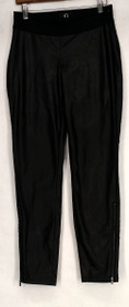 Giuliana Leggings Sz 4 Slim Leg Pull On Elastic Waist Black Womens 500-192