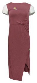 Lisa Rinna Collection Dress Sz 2XS Crossover Front Pink A308775