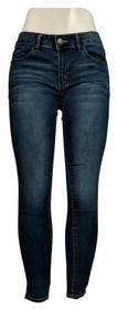 SO Women's Jr Sz Jeans 5 Low Rise Ultimate Jeggings Blue