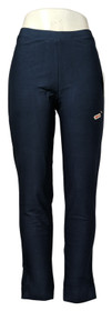Wynne Layers Women's Pants Sz S Essential Crepe Full-Length Pant Blue 618-481