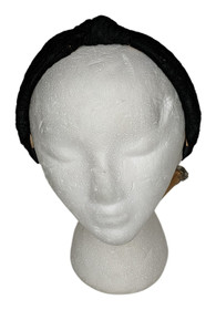 LOGO by Lori Goldstein One Size Lace Headband Black A393985