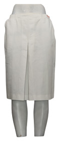 Separate Impressions Skirt Sz 10 Cotton Blend Polyester White