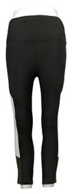 MIND BODY LOVE By Peace Love Leggings Sz 2XS World Cropped Color Black A383624