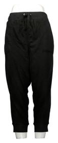 Tracy Anderson for G.I.L.I Women's Pants Sz PXL Petite Cropped Black A365534