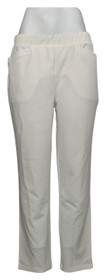 Antthony Women's Petite Pants PL Crystal Couture Boss Lady Pant White 726478