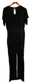 Curations Petite Jumpsuits PS Printed Knit Black One-Piece 699253001