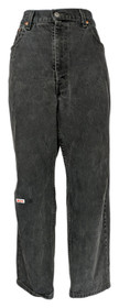 Levi's Men's Tapered Jeans Sz 40x30 550 Relaxed Fit Black