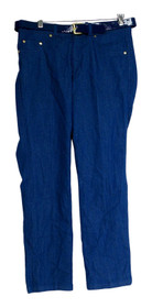 IMAN Global Chic Size S Perfect Fit Indigo Skinny Blue Jeans Womens