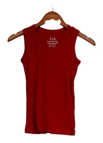 I/A Icon Apparel Top Sz S Racerback Tank Style True Red Womens