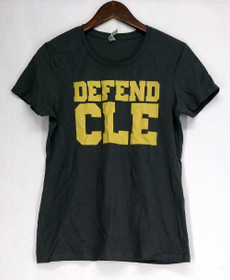 LC Trendz Size S Cleveland Basketball Top Charcoal Gray Womens