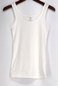 Next Level Top Sz S Essential Tank Top Classic White Womens