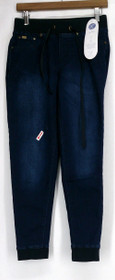 Diane Gilman Jeans Sz XS Super Stretch Lite Easy Fit Jegging Blue Womens 421-054