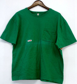 Style & Co. Size S Short Sleeve Basic Tee Top Bright Green Womens