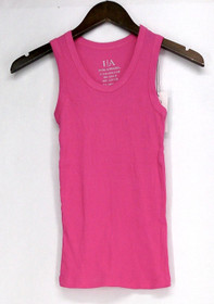 I/A Icon Apparel Size S Ribbed Scoop Neck Tank Pink Top Womens