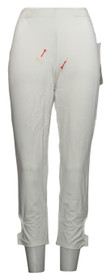 Women w/ Control Pants Sz XS Pull-On Knit White. A264935