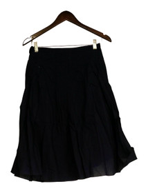 Motto Size 4 Pleated Lined w/ Side Zipper Closure Blue Skirt Womens