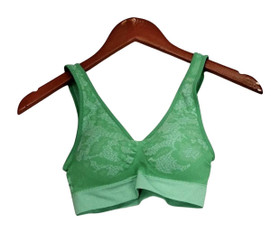 Comfortisse Perfect Fit Size XS/S One Size Green Bra Womens