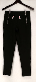 Slimming Options for Kate & Mallory Leggings S High Density Knit Green A426783