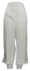 Alfred Dunner Plus Size Pants 24W Pull On Capri Style White Womens