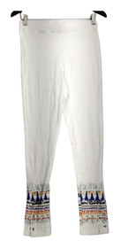 Slimming Options for Kate & Mallory Leggings M Pull On 2 Waistband White A434323