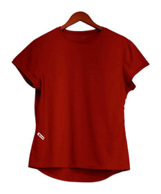 Zorrel Plus Size Top XXL Short Sleeve w / Body Heat Regulation Red