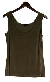 Affinity for Knits Size S Scoop Neck Light Brown Tank Top Womens